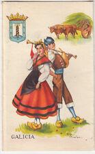 ESPAGNE SPAIN ESPANA costume folklore vestido tradicional GALICIA GALICE