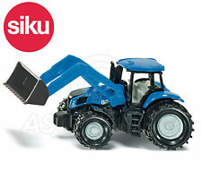 SIKU NO.1355 1:87 Scale NEW HOLLAND TRACTOR WITH FRONT LOADER Dicast Model / Toy