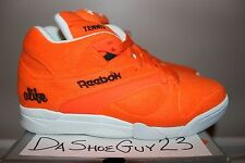 DS REEBOK COURT VICTORY PUMP ALIFE sz 9 BALL OUT TENNIS 6-171633 ORANGE