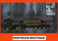 GUINNESS Beer / truck, Scania with trailer, Scale HO/1:87