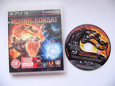 Mortal kombat ps3 Playstation 3 game D359