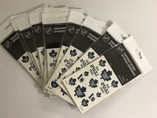 Lot Of 10 NFL Toronto Maple Leafs 26 Temporary Tattoos Loot Bag Souvenir