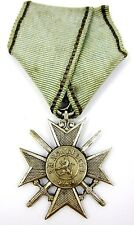 BULGARIA MILITARY ORDER FOR BRAVERY SOLDIER'S CROSS  ISSUE 1880 AUTHENTIC