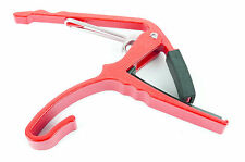 Pink Trigger Clamp Guitar Capo For Gibson, Ibanez, Tanglewood, Yamaha & Fende