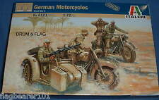 ITALERI 6121. tedesco Motocicli. Figure IN PLASTICA SCALA 1:72