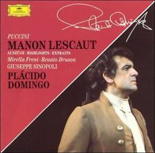 Freni, Bruson, Domingo, Puccini, Manon Lescaut Hlts, Excellent