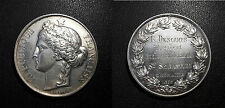 Médaille - République Française par Borrel - Confrérie de St Sébastien d'Onnaing