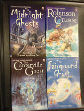 Usborne Young Reading Series Two Book Lot Midnight Canterville Fairground Ghost