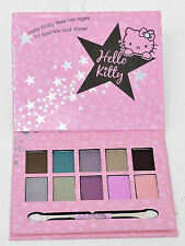 Hello Kitty Girls Cosmic Eye Pallet Set . 10 Shimmer Eye Shadows and Applicator.