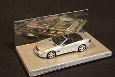 """Minichamps Mercedes-Benz SL-Klasse 2001 1:43 Silver """"Werk Bremen"""" (JS)"""