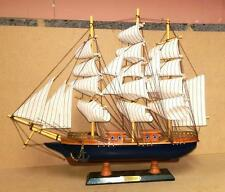 Collectable Merchant Navy Wooden Galleon 60cm Model Ship Boat Nautical Gift Deco