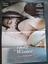 EIN HERZ IM WINTER - Filmplakat A1 - Claude Sautet - Emmanuelle Beart