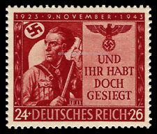EBS Germany 1943 20th Anniversary of Munich Beer Hall Putsch MNH MiNr. 863**