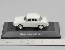 Atlas 1/43 Scale Willys Gordini(1965) Type Diecast Car Truck Model Toy