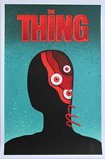 EELUS The Warmest Place To Hide THE THING mint print poster movie monster scary