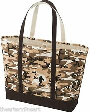 ANDY WARHOL x UNIQLO 'Camouflage' SPRZ NY Art Tote Bag Large Unisex Brown *NWT*