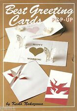 BEST GREETING CARDS POP-UP SOFTCOVER BOOK BY KEIKO NAKAZAWA COPYRIGHT 1995