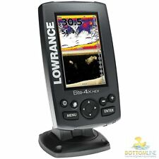 Lowrance Elite 4X HDI Fishfinder with Dual Imaging Transducer 50/200/455/800 kHz