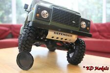 Carter en alliage custom protection pour 4x4 gelande 2 échelle Crawler rc4wd D90 Landrover