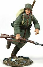 Britains soldados Ww1 Infantería Alemana Pioneer Funcionando -23058 Militar De Metal