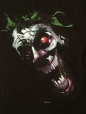 Rare Graffiti Joker Tee Size Large T-Shirt Black