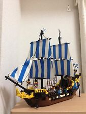 Lego Pirate custom MOC Black Seas Barracuda 6285 10040 / Caribbean Clipper 6274