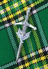 Scottish Kids Thistle Crest Sword Kilt Pin/child Kilt Pin/Baby Kilt Pin/Brooch
