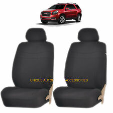 BLACK ELEGANCE AIRBAG COMPATIBLE LOWBACK SEAT COVERS SET for GMC CANYON SIERRA