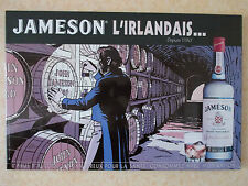 "TOLE LITHOGRAPHIEE WHISKY JAMESON TED BENOIT ""BLAKE ET MORTIMER"""