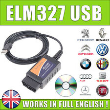 New Diagnostic Tool V1.5 ELM327 OBDII OBD2 CAN-BUS USB AUTOCOM DELPHI VAG COM