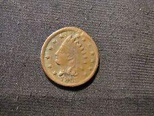 1863 Civil War Store Card Token C.Doscher Not One Cent