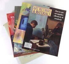 Lot (5) ART & PAINTING Books Methods Realists Fundamentals Oils Acrylic Canvas