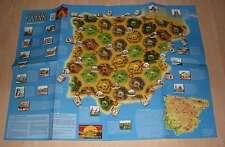 Siedler von Catan Hispania (Spanien) Szenario Spielplan Plan Karte Landkarte Neu