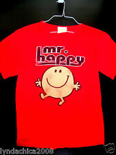 MR. HAPPY Shirt (Size S)  Authentic Wear/ Licensed By Roger Hargreaves
