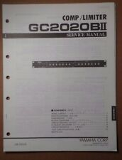 Original Yamaha GC2020BII Comp/Limiter SERVICE Manual