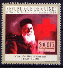Nobel Peace, H. Dunant, Red Cross Founder, Guinee Rep. MNH, -A41