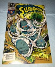 Superman Man Of Steel #18 1st Appearance Doomsday 9.2-9.4 FIRST PRINT SIGNED COA