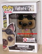 FUNKO POP 2016 GAMES FALLOUT DOGMEAT (FLOCKED) #76 GAMESTOP EXCLUSIVE In Stock