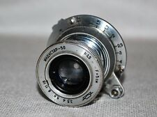 RARE RUSSIAN USSR TUBE COLLAPSIBLE INDUSTAR-50 LENS f3,5/50mm, M39 for FED/ZORKI