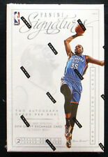 Panini Signatures Basketball NBA 2013-14 Hobby Box 2 Auto & 1 Film Card per Box