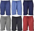 NS2 Mens Twin Pack Jersey Cotton Shorts Pj Plain Size M L & XL