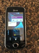 AT&T SAMSUNG Mythic SGH-A897 Burgundy Black Working Cell Phone