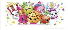 SHOPKINS GROCERY PALS wall stickers MURAL 1 decal SCRAPBOOKING kid's wall decor
