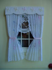 DOLLS HOUSE CURTAINS MULTI  BRODERIE ANGLAISE