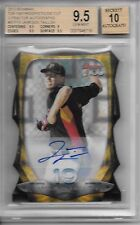 2013 Bowman Chrome JAMESON TAILLON TOP 100 XFRACTOR AUTO /24 BGS 9.5 GEM MINT!