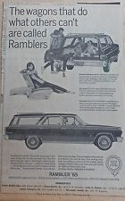 1965 newspaper ad for Rambler - Classic Cross Country wagon, 5th door option