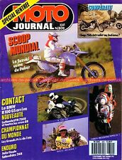 MOTO JOURNAL  809 BMW R100 GS HONDA VFR 750 R RC 30 SUZUKI Intruder DUCATI 1987