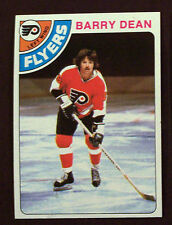1978-79 Topps Hockey Barry Dean #142  Flyers NM/MT LOT OF 2