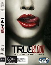 TRUE BLOOD: Season 1 (DVD, 2009, 5-Disc Set) FREE POSTAGE
