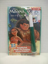 Disney MOANA Magic Pen Painting Book  Spirit of the Ocean